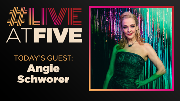 Broadway.com #LiveatFive with Angie Schworer of The Prom