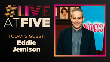 Broadway.com #LiveatFive with Eddie Jemison of Waitress