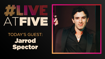 Broadway.com #LiveatFive with Jarrod Spector of The Cher Show