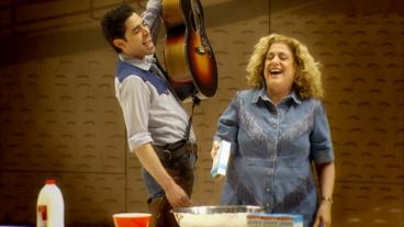 Watch Clips from Daniel Fish's Imaginative Oklahoma! Revival, Starring Rebecca Naomi Jones & Damon Daunno