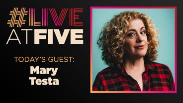 Broadway.com #LiveatFive with Mary Testa of Oklahoma!
