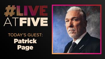 Broadway.com #LiveatFive with Patrick Page of Hadestown
