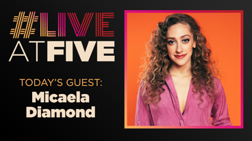 Broadway.com #LiveatFive with Micaela Diamond of The Cher Show