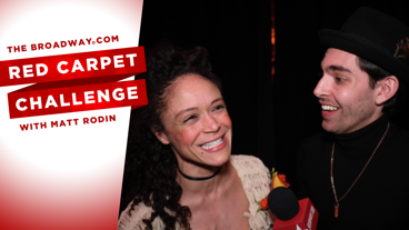 Get Godly with the Cast of Hadestown on Opening Night in this Red Carpet Challenge