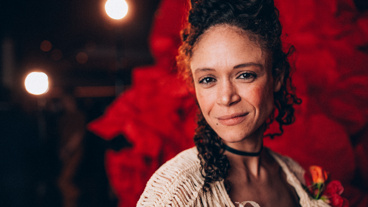 Hadestown's Amber Gray plays Persephone