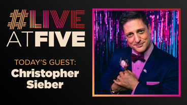 Broadway.com #LiveatFive with Christopher Sieber of The Prom