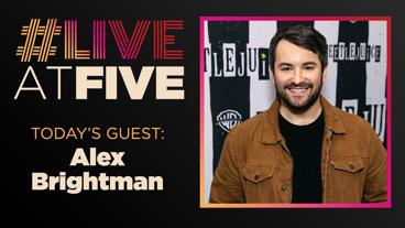 Broadway.com #LiveatFive with Alex Brightman of Beetlejuice