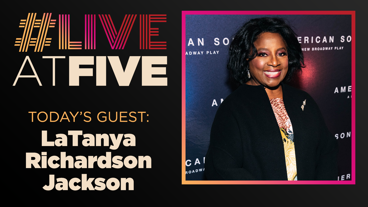 Broadway.com #LiveatFive with LaTanya Richardson Jackson of To Kill a Mockingbird