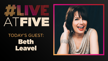 Broadway.com #LiveatFive with Beth Leavel of The Prom