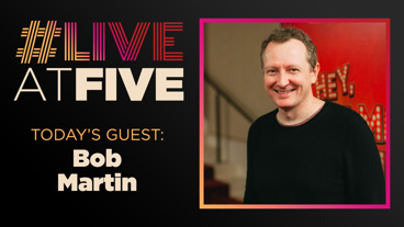 Broadway.com #LiveAtFive with Bob Martin from The Prom