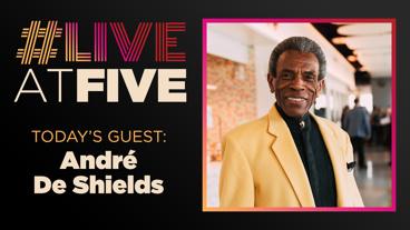 Broadway.com #LiveAtFive with André De Shields from Hadestown