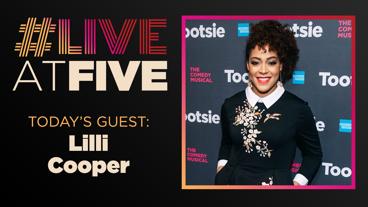 Broadway.com #LiveatFive with Lilli Cooper of Tootsie