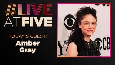 Broadway.com #LiveatFive with Amber Gray of Hadestown