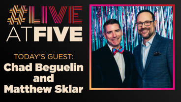 Broadway.com #LiveatFive with Chad Beguelin and Matthew Sklar of The Prom