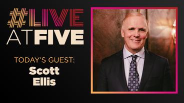 Broadway.com #LiveatFive with Tootsie Director Scott Ellis