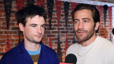Jake Gyllenhaal and Tom Sturridge on Bringing the Emotional Dual Monologue Sea Wall/A Life to Broadway