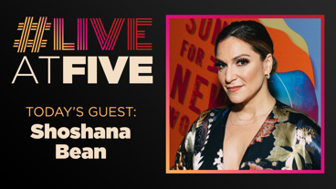 Broadway.com #LiveatFive with Shoshana Bean of Waitress