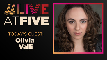 Broadway.com #LiveatFive with Olivia Valli of Jersey Boys