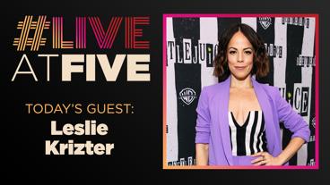 Broadway.com #LiveatFive with Leslie Kritzer of Beetlejuice