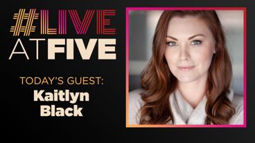 Broadway.com #LiveatFive with Kaitlyn Black of #DateMe: An OkCupid Experiment