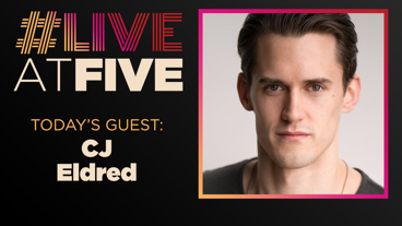 Broadway.com #LiveatFive with CJ Eldred of Rock of Ages
