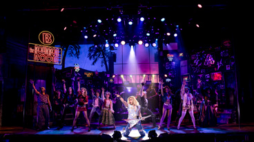 The cast of Rock of Ages.