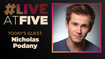 Broadway.com #LiveatFive with Nicholas Podany of Harry Potter and the Cursed Child