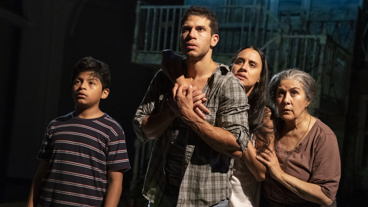 The cast of Mojada.