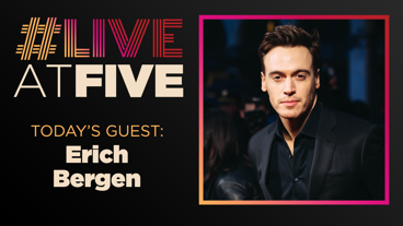 Broadway.com #LiveatFive with Erich Bergen of Waitress