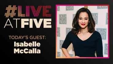 Broadway.com #LiveatFive with Isabelle McCalla of The Prom