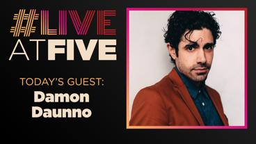 Broadway.com #LiveatFive with Damon Daunno of Oklahoma!