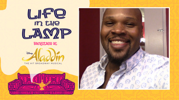 Backstage at Aladdin with Michael James Scott, Episode 4: B'way Friends