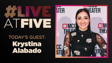 Broadway.com #LiveatFive with Krystina Alabado of Mean Girls