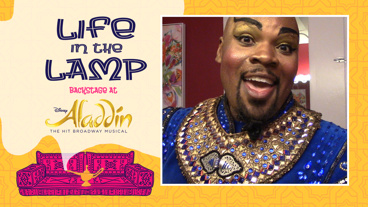 Backstage at Aladdin with Michael James Scott, Episode 5: Disney Love!