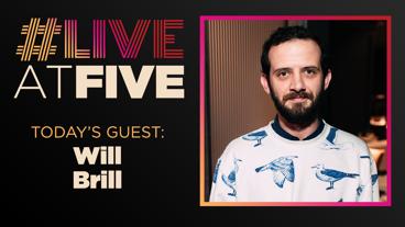 Broadway.com #LiveatFive with Will Brill of Oklahoma!