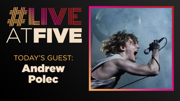 Broadway.com #LiveatFive with Andrew Polec of Bat Out of Hell