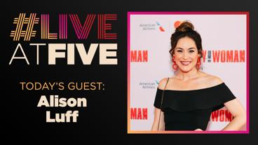 Broadway.com #LiveatFive with Alison Luff of Waitress