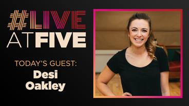 Broadway.com #LiveatFive with Desi Oakley of Chicago