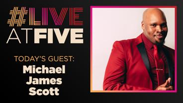 Broadway.com #LiveatFive with Michael James Scott of Aladdin