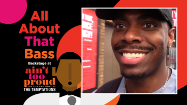 Backstage at Ain't Too Proud with Jawan M. Jackson, Episode 2: Catching Up