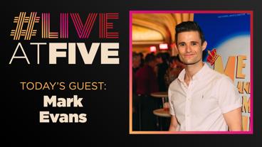 Broadway.com #LiveatFive with Mark Evans of Waitress