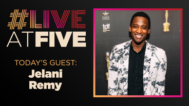 Broadway.com #LiveatFive with Jelani Remy of Ain't Too Proud