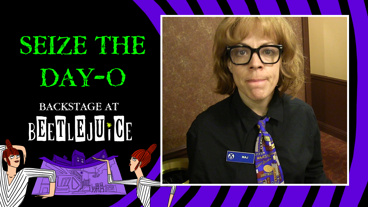 Backstage at Beetlejuice with Leslie Kritzer, Episode 8: Upstairs with Maj