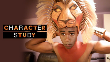 See The Lion King Star Bradley Gibson Backstage Preparing to Tell the 'Incredibly Human' Story of Simba