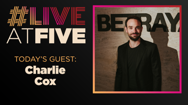 Broadway.com #LiveatFive with Charlie Cox of Betrayal