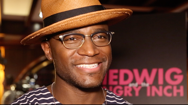 Video! Star Taye Diggs on Lipstick Shopping and Joining the Hedwig 'Sisterhood'