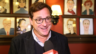 Video! Bob Saget Preps to Preach the Dirty Word of Broadway's Hand to God