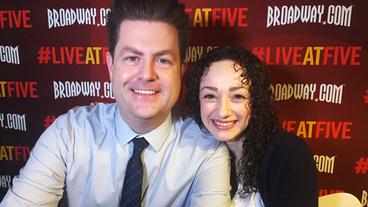 Broadway.com #LiveatFive with Megan McGinnis of Daddy Long Legs