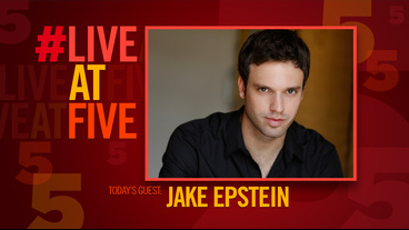 Broadway.com #LiveatFive with Straight's Jake Epstein