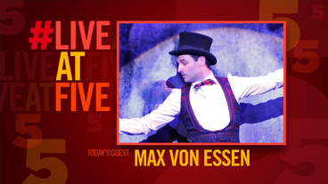 Broadway.com #LiveatFive with An American in Paris' Max von Essen